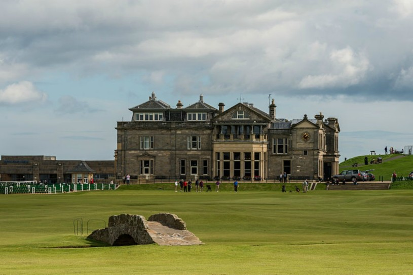 Alfred Dunhill Links Championship, St Andrews.